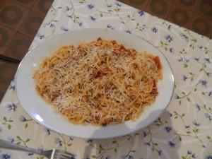 Plat de strozzapreti préparé par Sig. Renzi-1