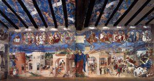 Storie di santa Barbara Lorenzo Lotto