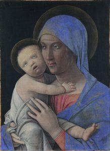 Madonna col Bambino Andrea Mantegna