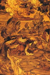 Marqueterie arche de Noe Lorenzo Lotto