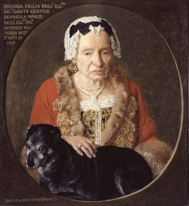 Zenobia Benaglio Marenzi par Paolo Bonomino